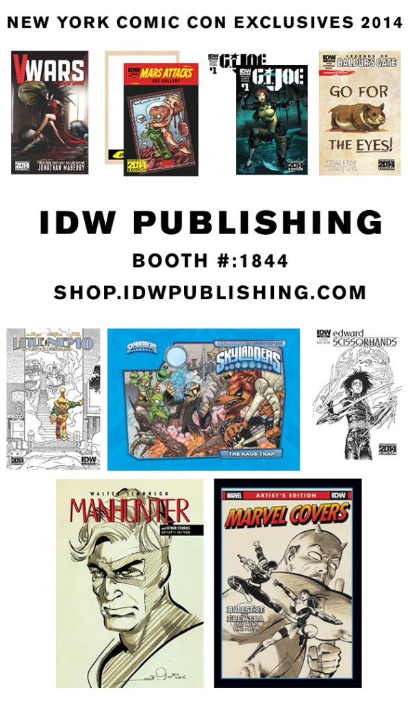 IDW2014NYCCExclusives