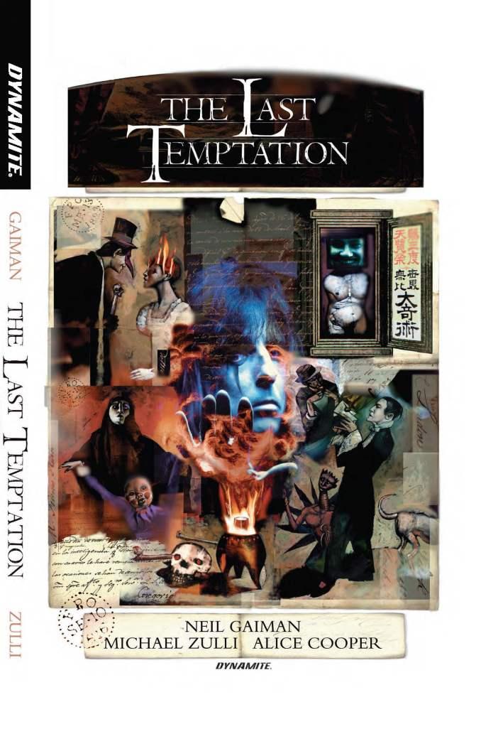 Dynamite Re-Releases Neil Gaiman's The Last Temptation
