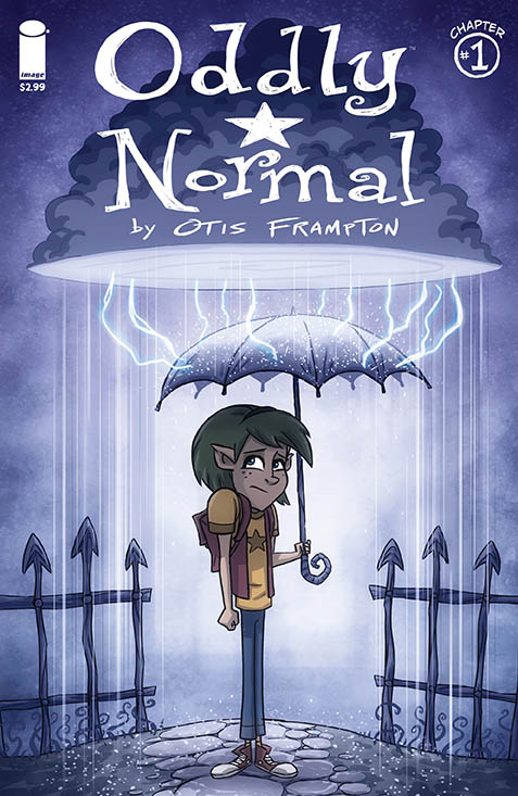 OddlyNormal01_Cover
