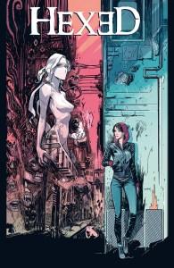 HEXED #5 Cover by Dan Mora