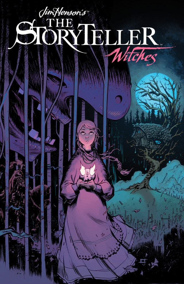 JIM HENSON'S THE STORYTELLER: WITCHES #4 Cover by Jeff Stokely
