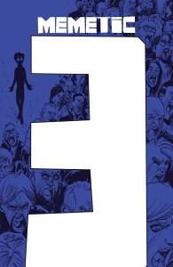 MEMETIC #3 Cover by Eryk Donovan