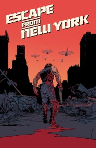 ESCAPE FROM NEW YORK #1 Main Cover by Declan Shalvey