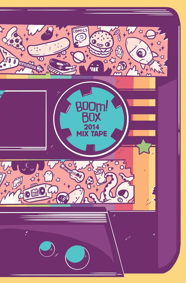 BOOM! BOX 2014 MIX TAPE #1 Retailer Incentive Cover (1:10) by Jake Lawrence