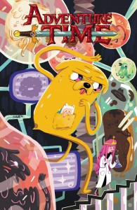 ADVENTURE TIME #35 Main Cover by Shanti Rittgers