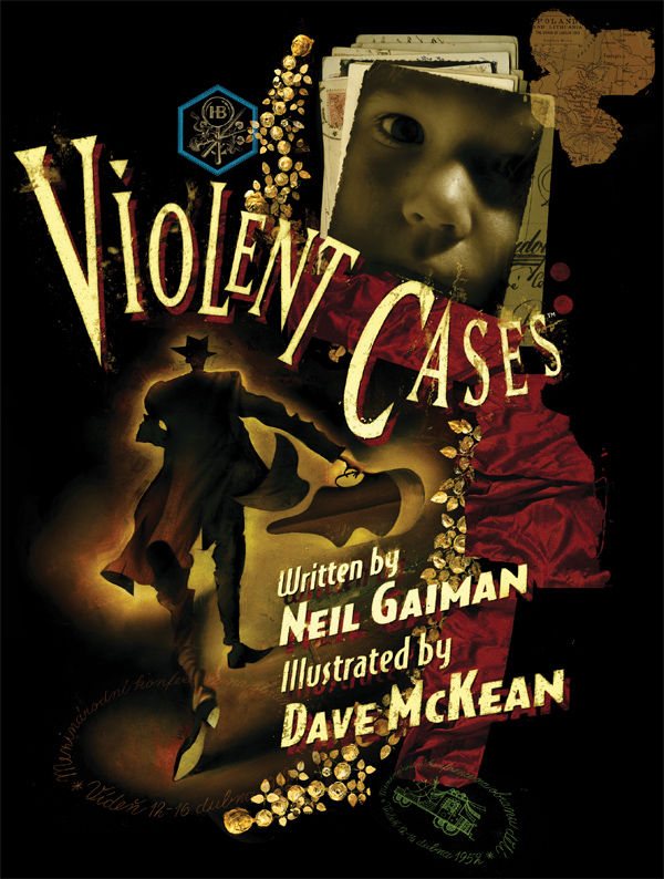Review - Neil Gaiman and Dave McKean's Violent Cases