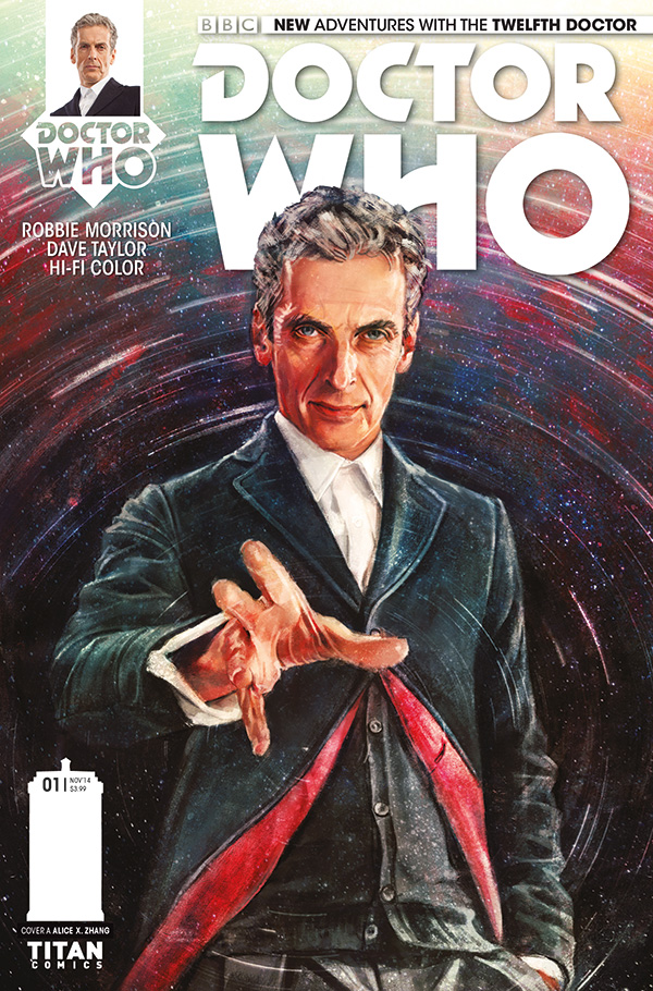 Doctor Who the Twelft Doctor #1 by Alice X. Zhang
