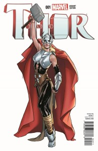 """Review of Thor #1 - """"If She Be Worthy"""""""