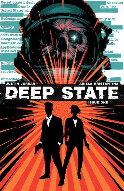 Deep State #1 Main Cover by Matt Taylor