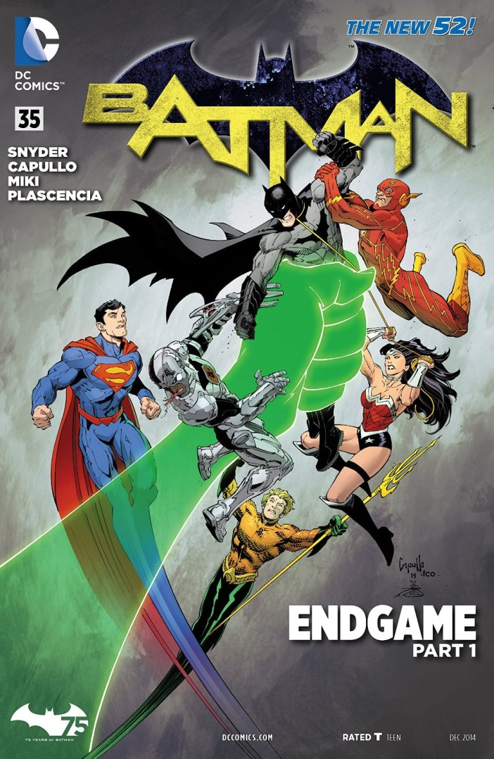 Batman #35 - Engame Part 1 Gets 5 Out of 5! Threat Level: After Con