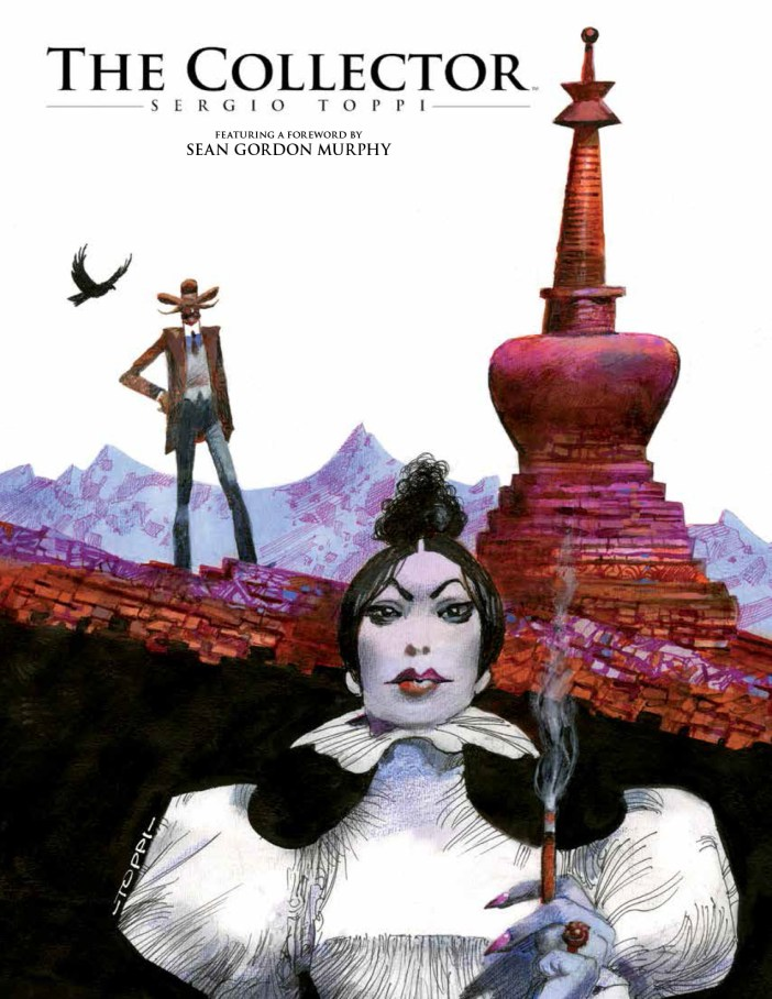 Sergio Toppi's 'The Collector' from Archaia