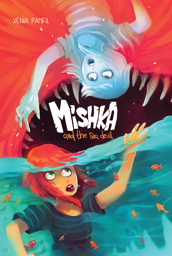 Preview - Mishka and The Sea Devil - Action Lab