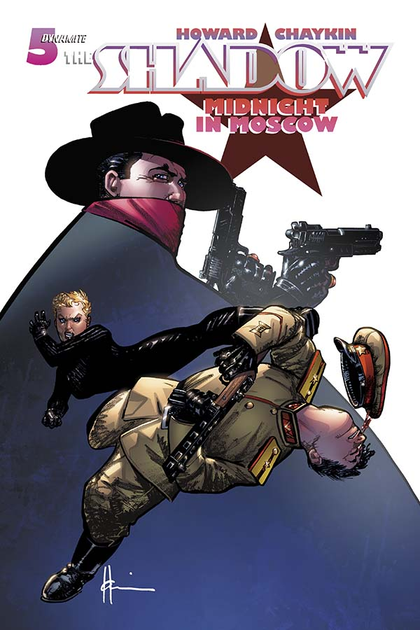 Preview - Shadow: Midnight in Moscow #5 - Chaykin!