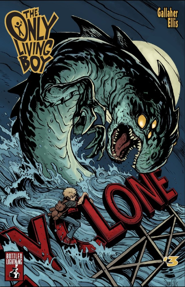 The Only Living Boy #3 - This Series Continues To Impress!