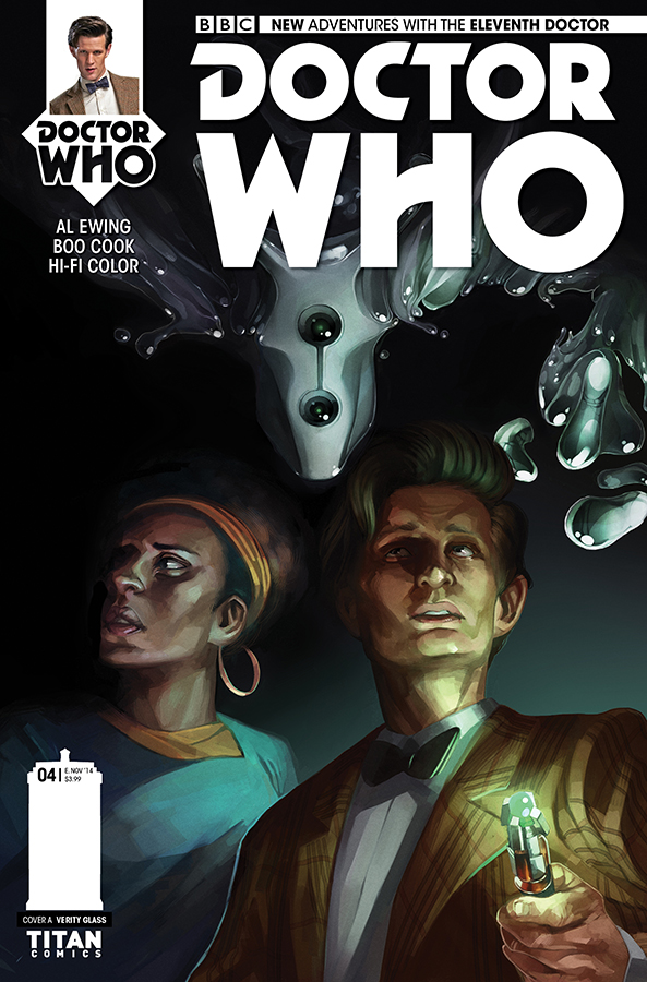 Titan's Doctor Who: The Eleventh Doctor #4 New Arc & New Creative Team!
