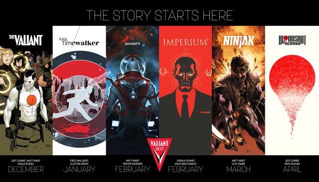 Valiant Next! Part 1 - The Valiant