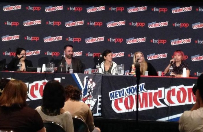 "NYCC 2014 Paneling Baby! - ""Fight What You Know"""