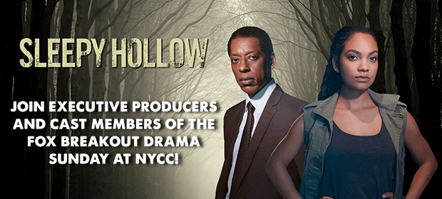 Sleepy Hollow Rides Into NYCC!