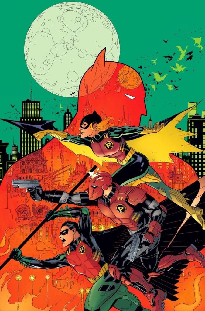 Batman & Robin #36 - nana-nana-nana-nana...Dark-seid! - Threat Level: WEDNESDAY!!