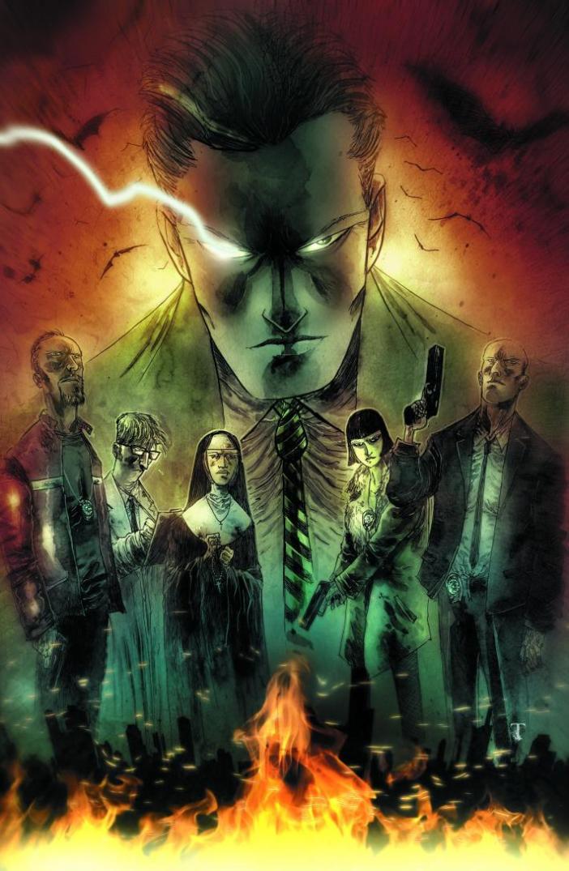 Threat Level: WEDNESDAY! Gotham by Midnight #1 Templesmith's Gotham is Terrifying!