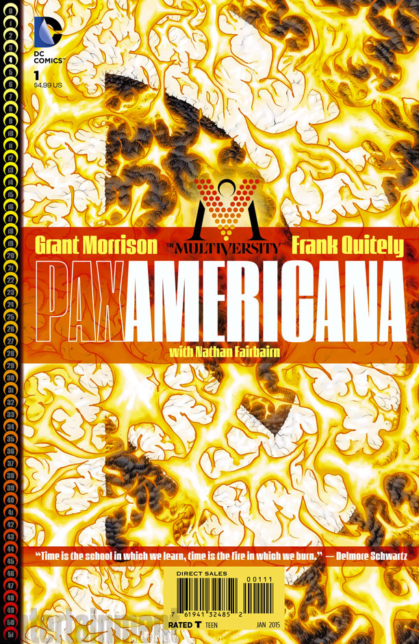 Threat Level Wednesday! Multiversity: Pax Americana #1 Morrison-Quitely-Charlton-Multiverse-FUN