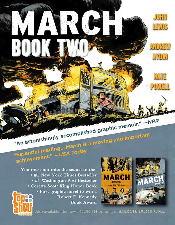 March: Book Two - This January from Top Shelf