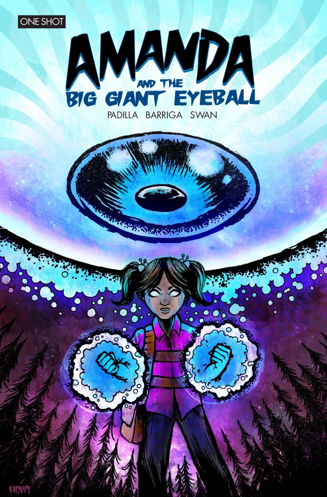 Amanda and The Big Giant Eyeball - That's right The Big Giant Eyeball.