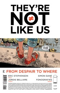 They're Not Like Us #1 from Image Comics- A Slightly Spoilery Review...