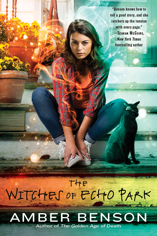 Amber Benson's 'The Witches of Echo Park' In Stores January 6th!