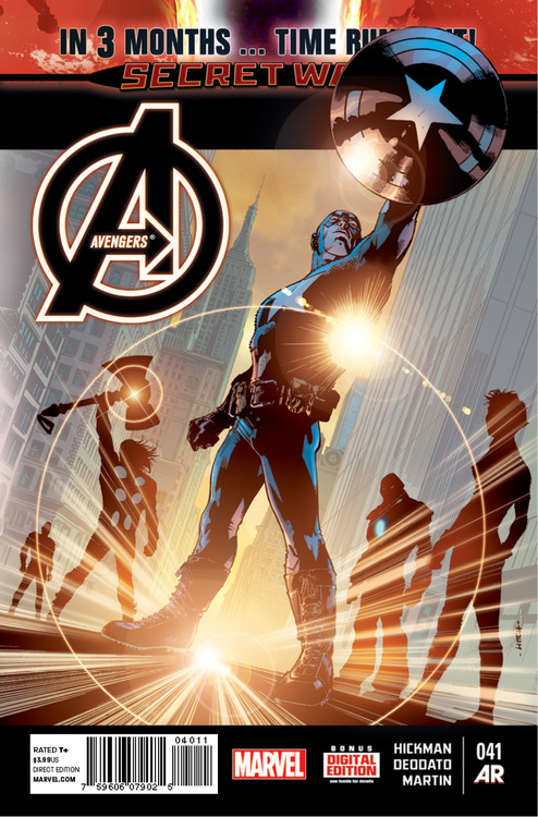 Threat Level: WEDNESDAY!!! - Avengers #41- the PEN-ULTIMATE chapter of Secret Wars begins!