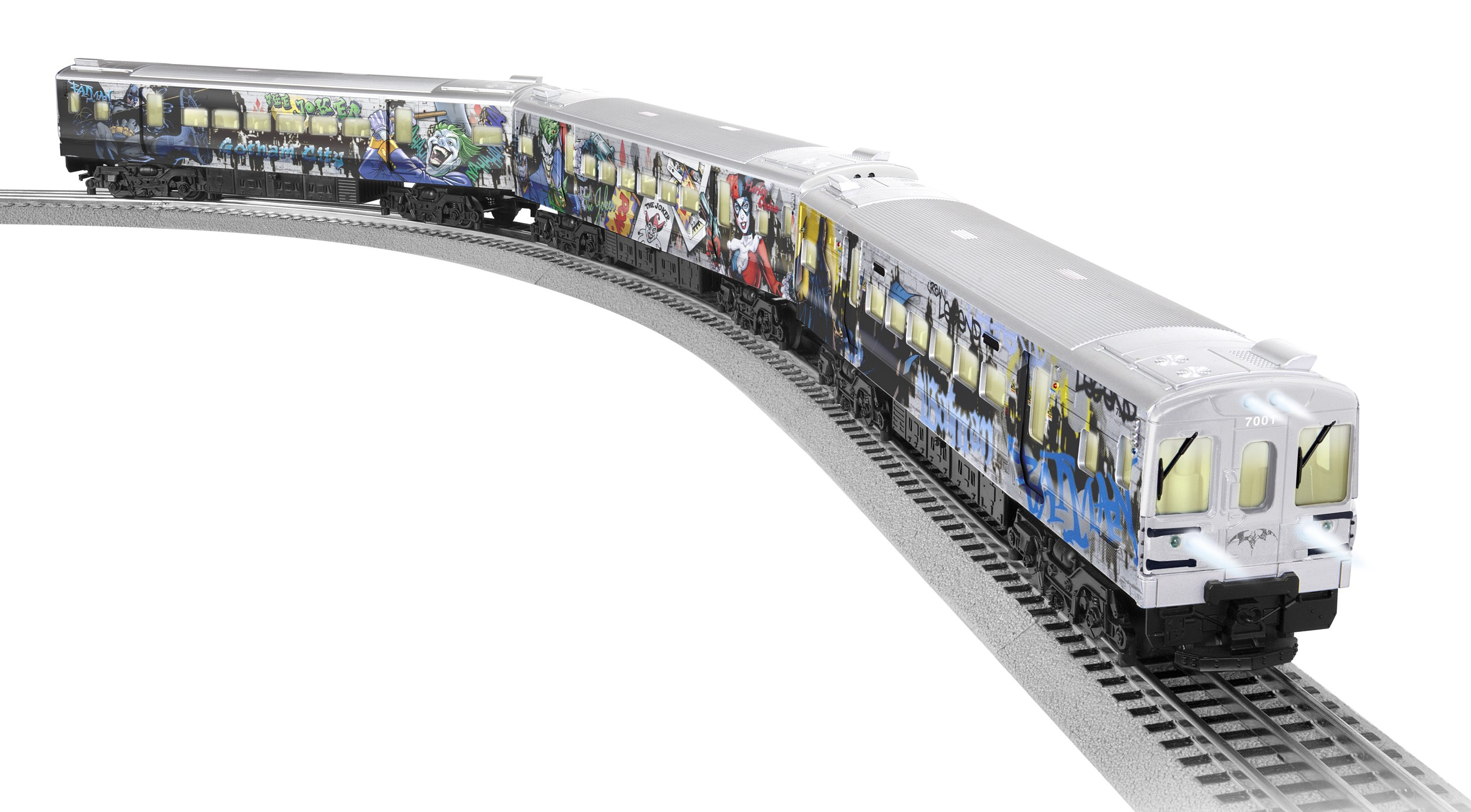 Toy Fair Ny 2015 Lionel Trains And Dc Comics A Match