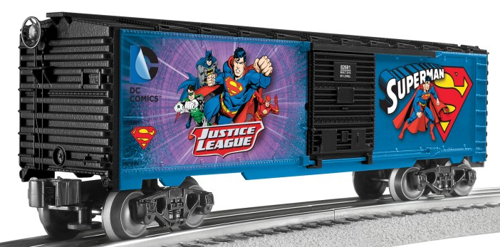 Superman Boxcar