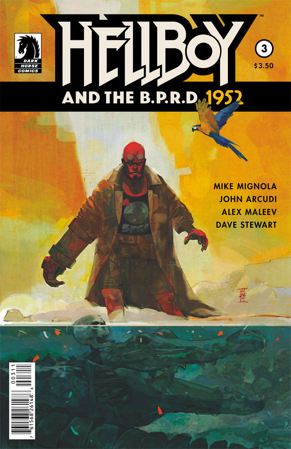 Hellboy and the BPRD: 1952 #3 - The Plot Thickens...