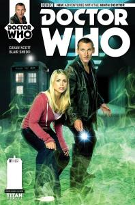 Here Comes Eccleston! The Ninth Doctor gets his comic!