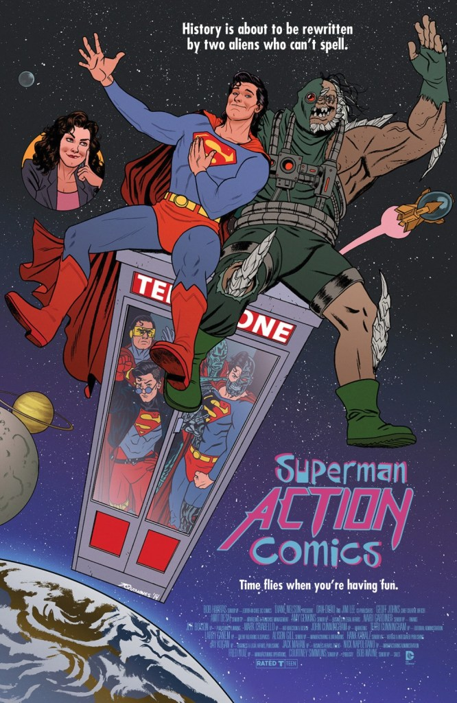 Superman Action Comics #40 Review - Bizarro is Back!