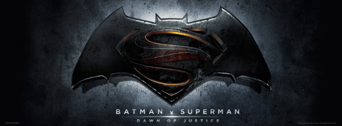 Batman v. Superman logo