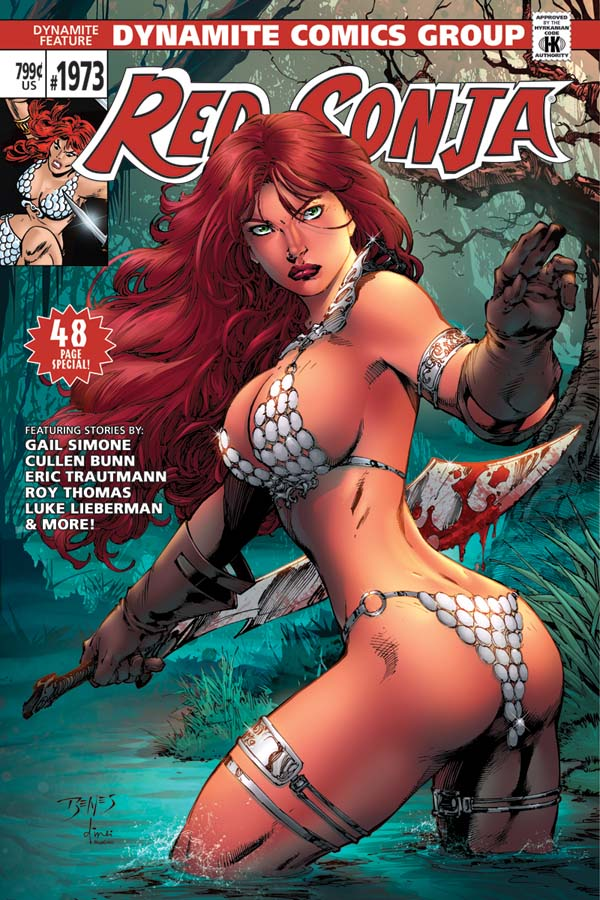Celebrate Red Sonja's Anniversary with Dynamite!