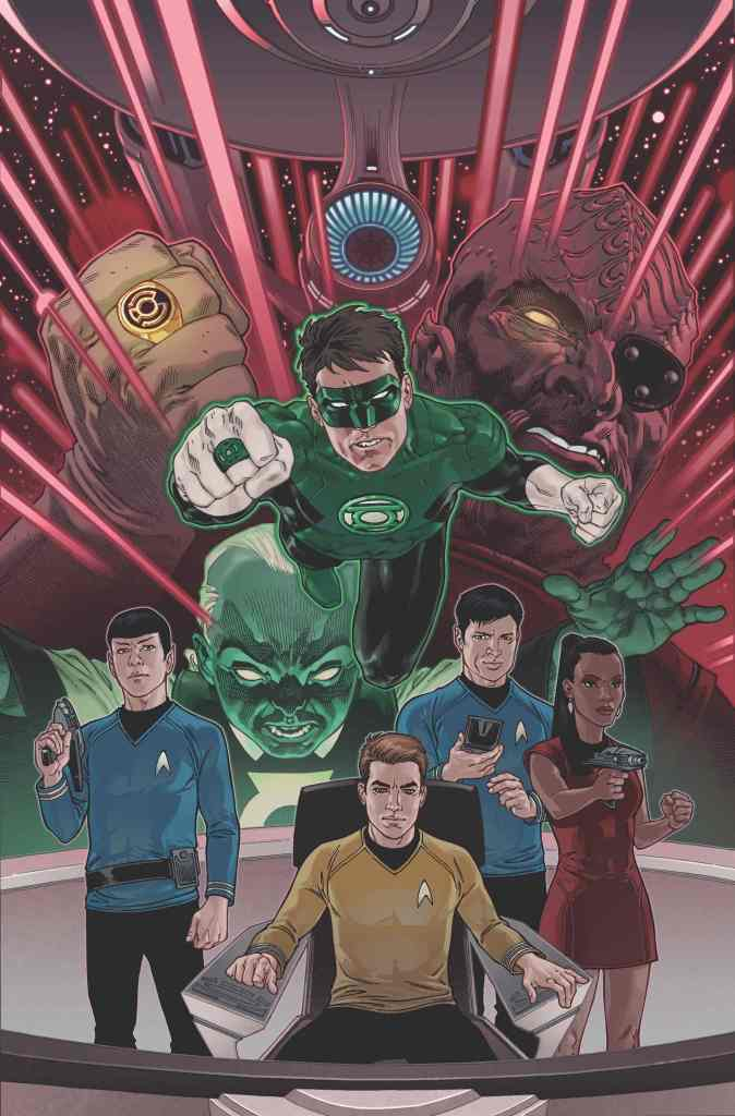 The Federation and the Green Lantern Join Forces in IDW & DC's Team Up Event