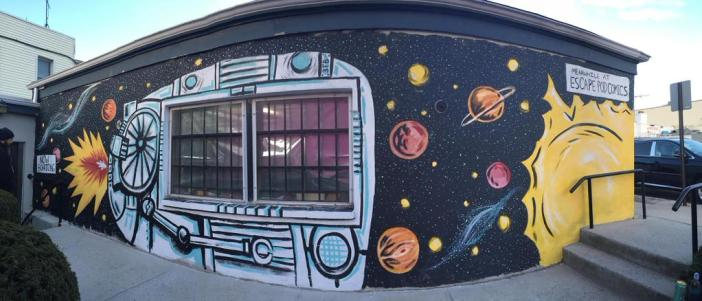 Mural @ Escape Pod Comics
