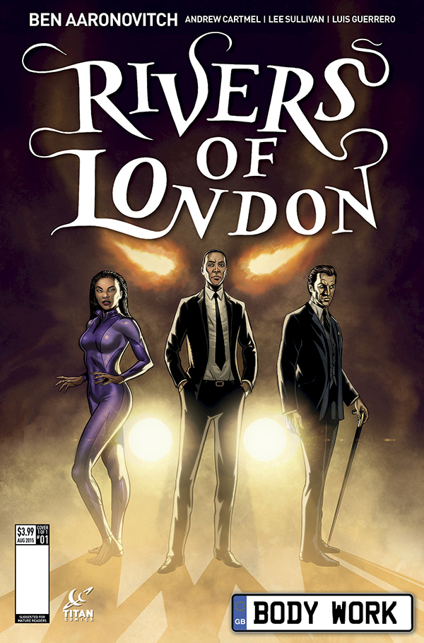 Rivers of London Comic This July! - from Titan!