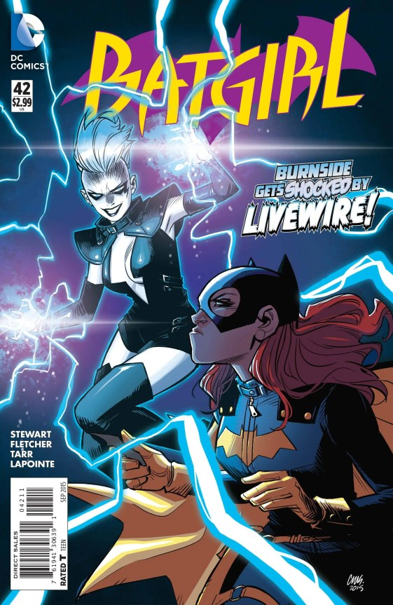 Review - Batgirl #42 Burnside Gets Shocked!