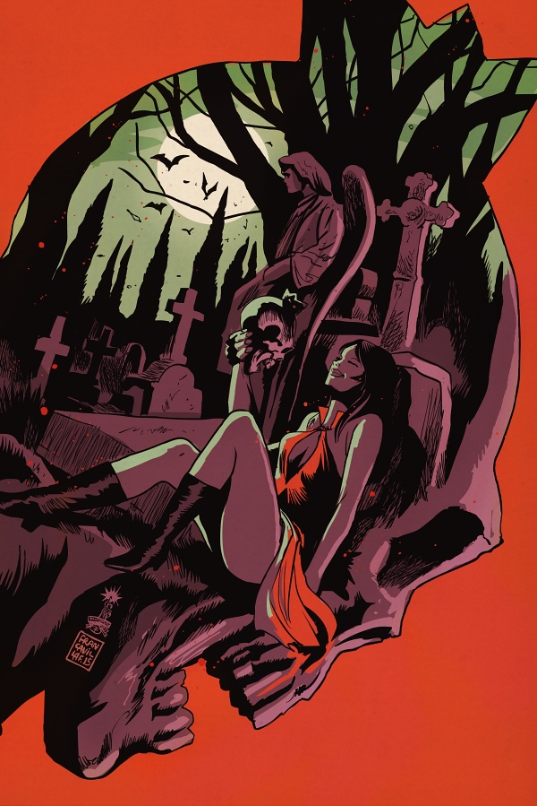Did you catch a glimpse of Vampironica?