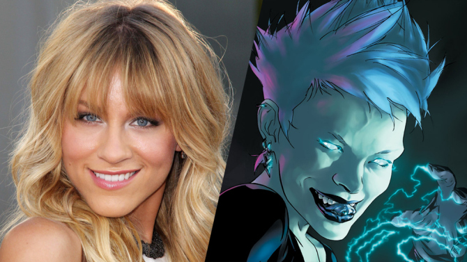 Brit Morgan Cast as Livewire!