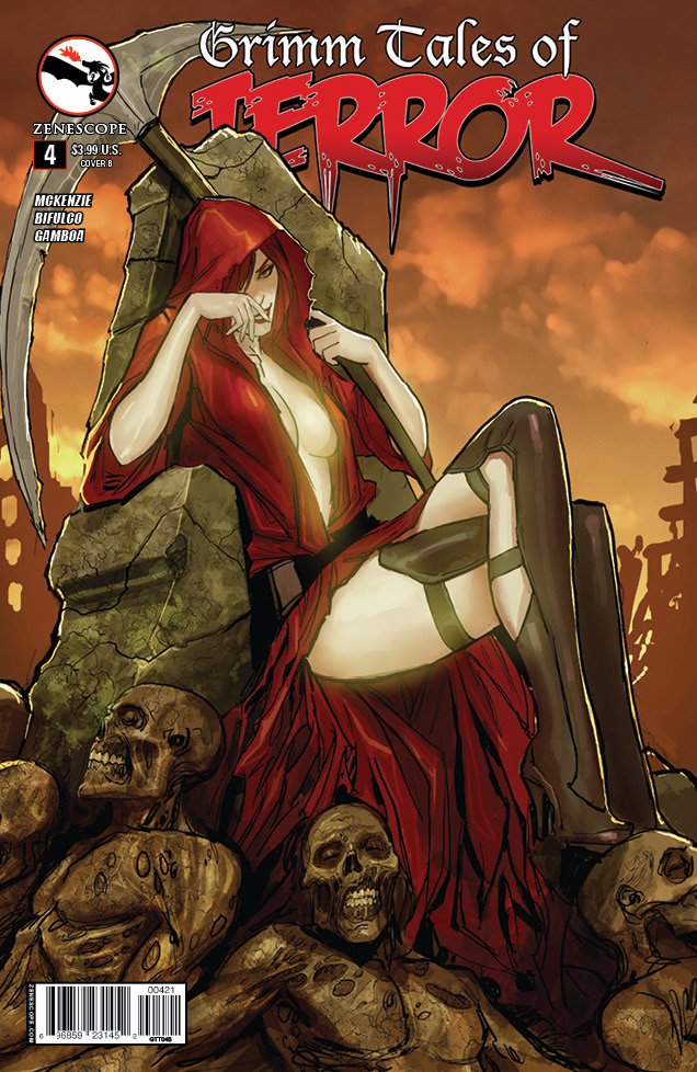 Zenescope Wants You! To read Grimm Tales of Terror...