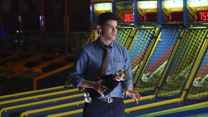 """Childish Things"" -- Kara does her best to support Winn (Jeremy Jordan, pictured) when his father, the supervillain Toyman, breaks out of prison and seeks out his son for unknown reasons, on SUPERGIRL, Monday, Jan. 18 (8:00-9:00 PM, ET/PT) on the CBS Television Network. Photo: Monty Brinton/CBS ©2015 CBS Broadcasting, Inc. All Rights Reserved"