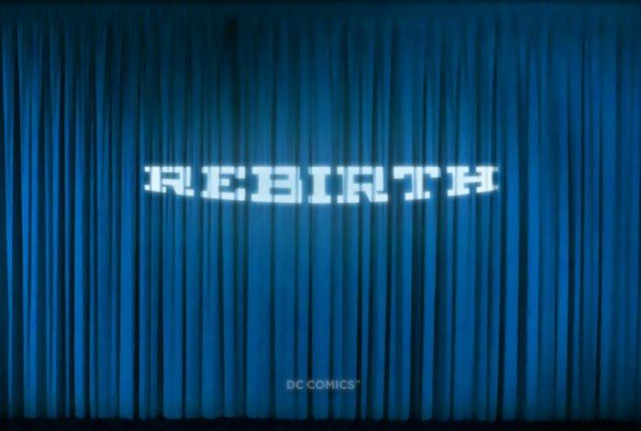 Rebirth of DC Comics?