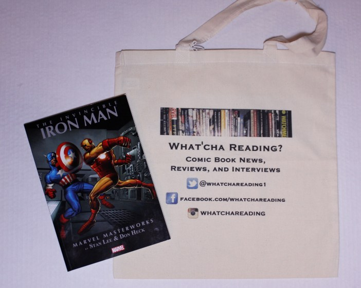 Comic & Tote Bag Giveaway 2! Marvel Masterworks: The Invincible Iron Man Volume 2