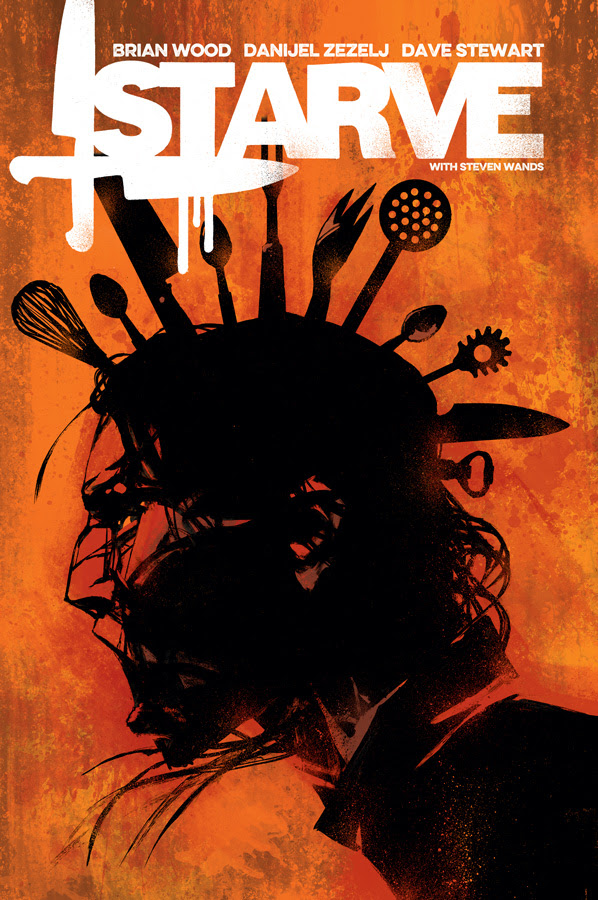 Brian Wood Dishes on Starve