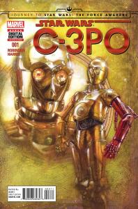 STAR WARS SPECIAL: C-3PO #1 First Look!