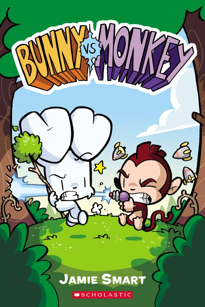 Rumble in the Forest: Bunny vs. Monkey!